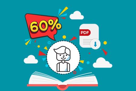 تخفیف 60 درصدی نسخه الکترونیک کتاب