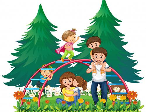 تعطیلات برای بچهها زمان فراغت و آسودگی از مدرسه است.