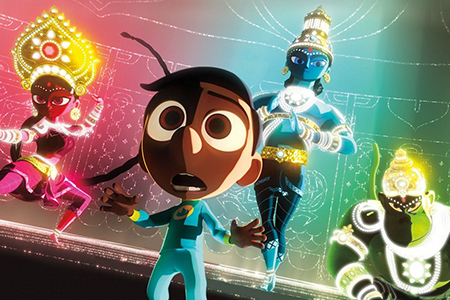 معرفی انیمیشن کوتاه Sanjay Super Team