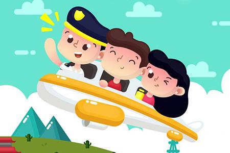 آشنایی با مشاغل مهماندار هواپیما، خلبان و شیرینی پز برای کودکان