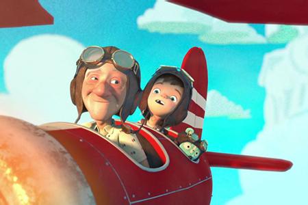 معرفی انیمیشن کوتاه taking flight
