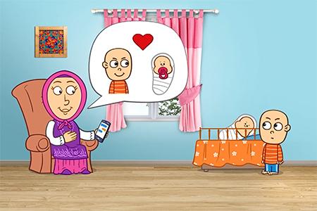 انیمیشن دردونه ها، مشکلات فرزند دوم